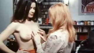 Annie Belle in Bacchanales Sexuelles (1974) (France)